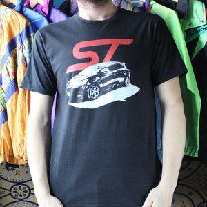 FORD Fiesta ST Car Graphic T-Shirt